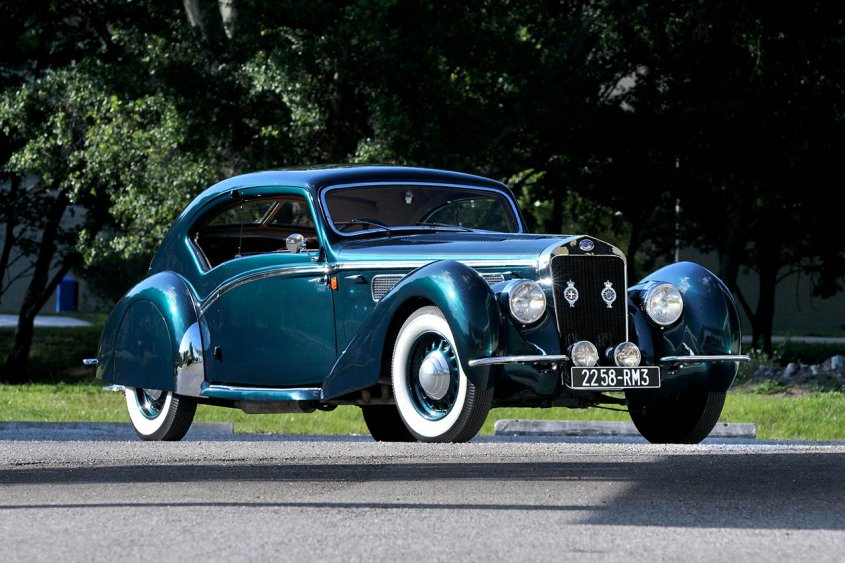Delage D8 120 Aerodynamic Coupe 1937-38
