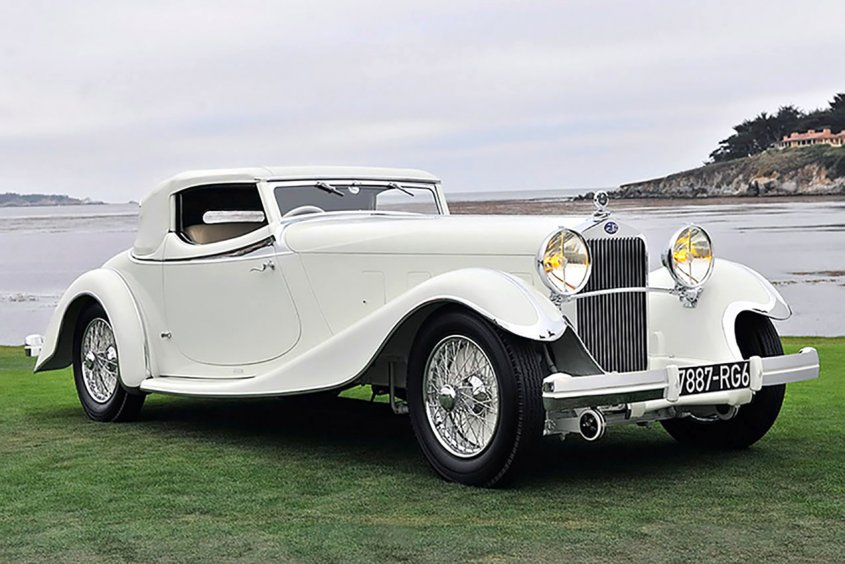 Delage D8S Roadster by Villars 1933