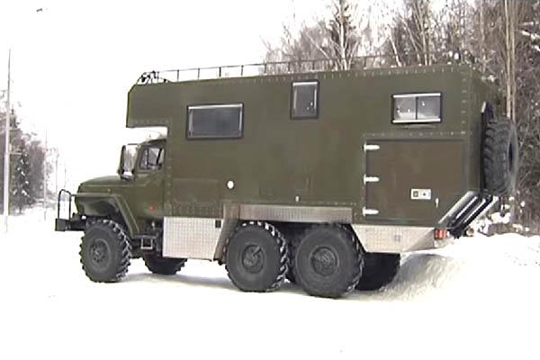Автодом на базе «Урала»