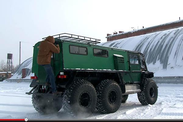 Конструктивные особенности снегоболотохода «Петрович»