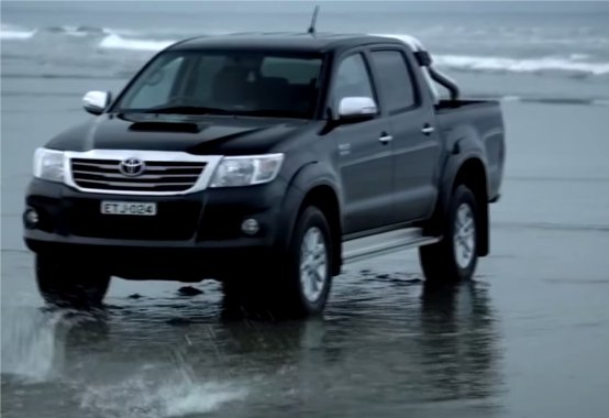 2014 Toyota Hilux 3.0d //ATDrive