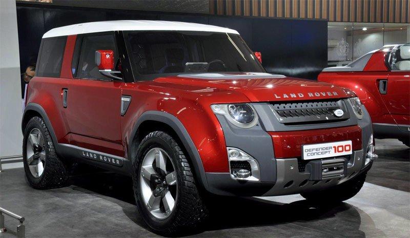 Следующий Land Rover Defender не появится до 2018 года