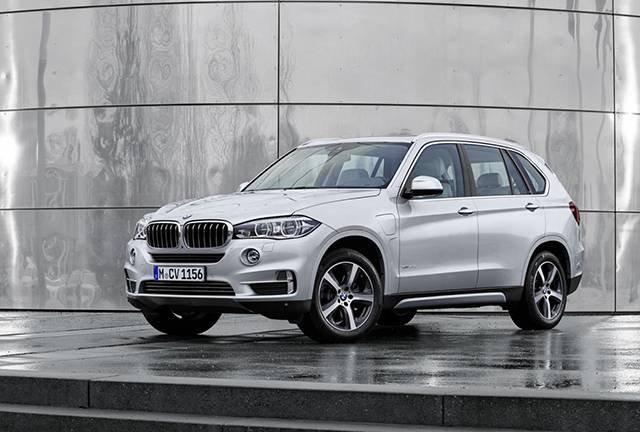 BMW X5 xDrive 40e_front