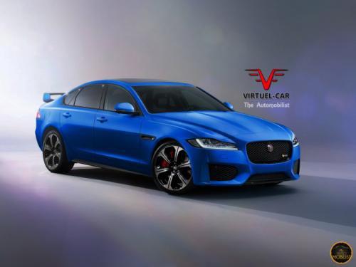 Jaguar XFR-S 2-го поколения_вид спереди