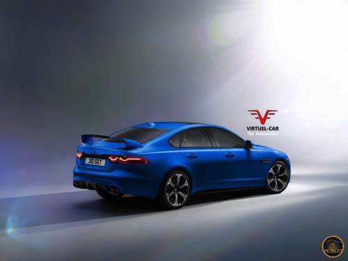 Jaguar XFR-S 2-го поколения_вид сзади