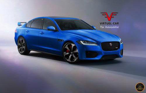 Jaguar XFR-S второго поколения уже визуализирован
