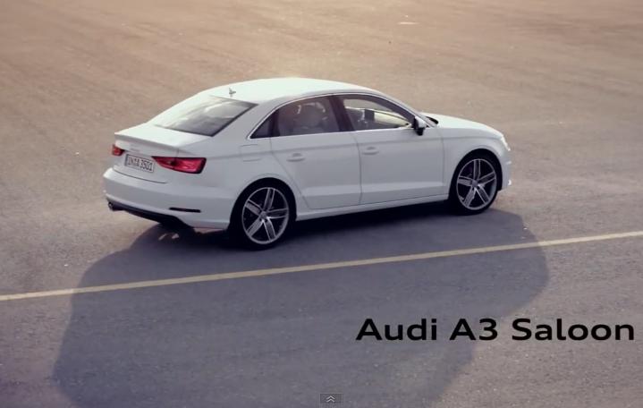 2014 Audi A3 Sedan — Promo video