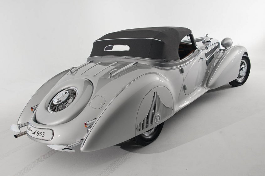 1938 Horch 853A Special Roadster сзади