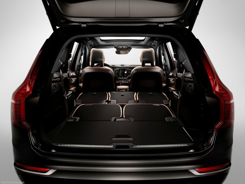 Volvo XC90 2014 багажник