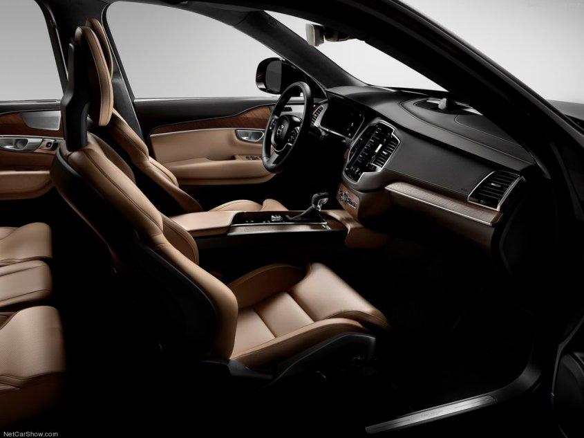 Volvo XC90 2014 салон