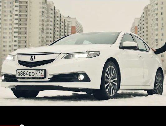 2014 Acura TLX 2.4i //Пётр Баканов