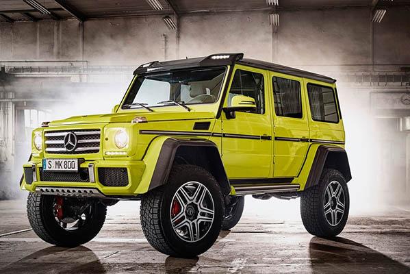 Mercedes-Benz G500 4×4² Concept
