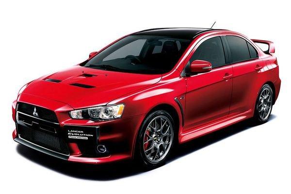 Mitsubishi начинает принимать заказы на Lancer Evolution Final Edition в Японии