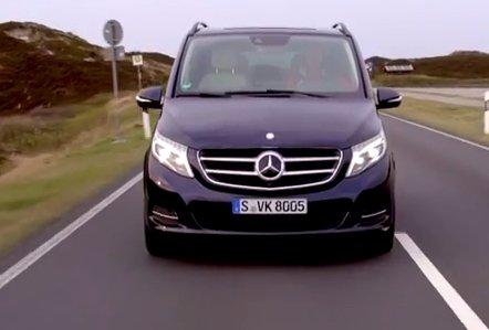 2015 Mercedes V-Сlass 2,2d //Motorlive