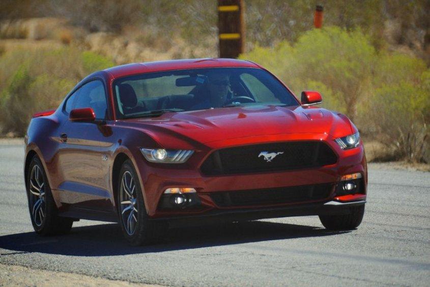 Выпущена европейская спецификация Ford Mustang 2015 года