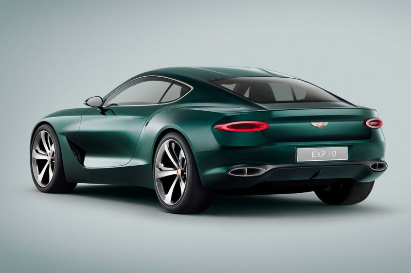 Bentley EXP 10 Speed 6 сзади