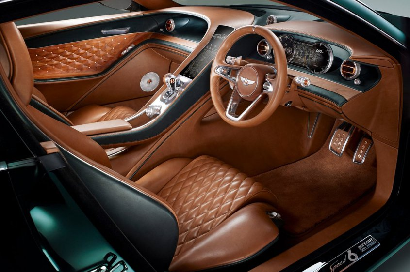 Bentley EXP 10 Speed 6 интерьер