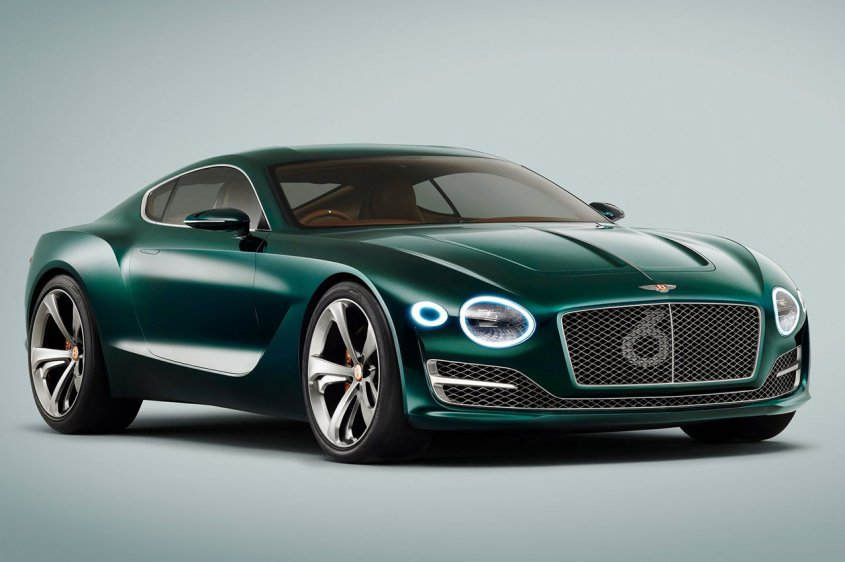 Bentley EXP 10 Speed 6 спереди