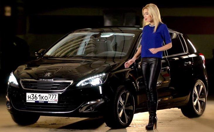 2014 Peugeot 308 1.6i //Москва рулит