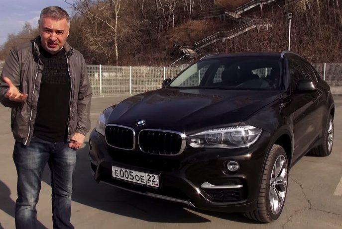 2015 BMW X6 3.0d //Александр Михельсон