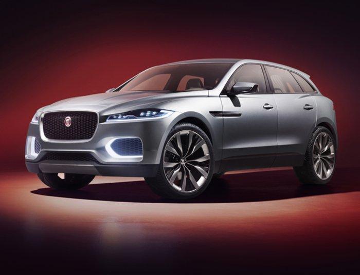 Основу Jaguar F-Pace составит Land Rover