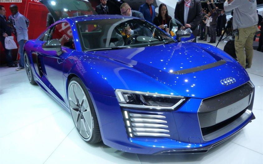 Самоуправляемый Audi R8 e-tron показали на выставке CES в Шанхае