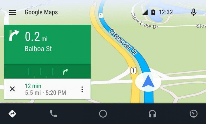 hyundai-sonata-android-auto-google-maps
