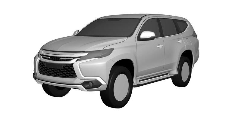 Новый Mitsubishi Challenger выявлен посредством патентных заявок