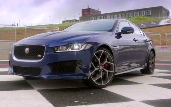 2015 Jaguar XE 3.0i //АвтоВести