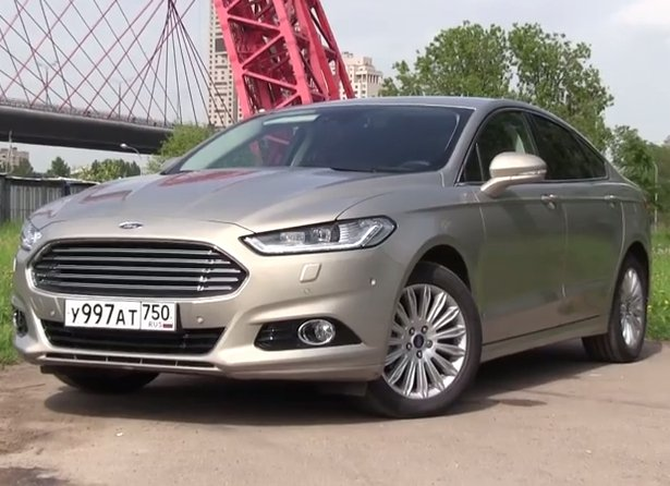2015 Ford Mondeo 2.0L Ecoboost //ATDrive