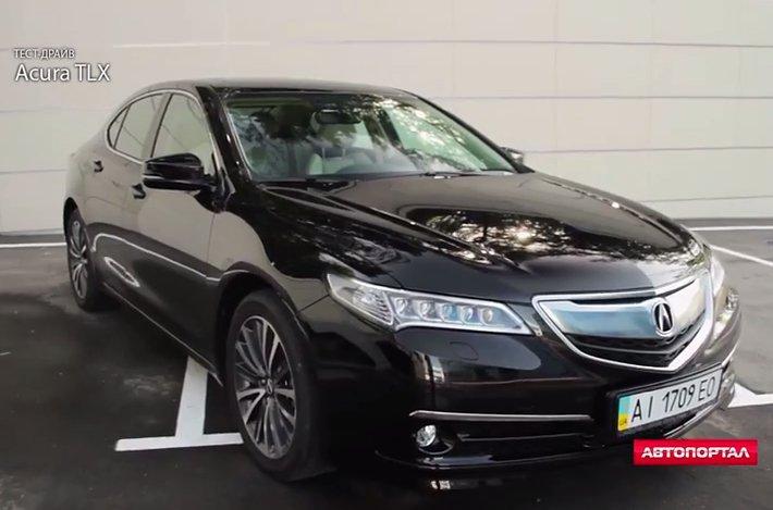 2015 Acura TLX 3.5i //Автопортал