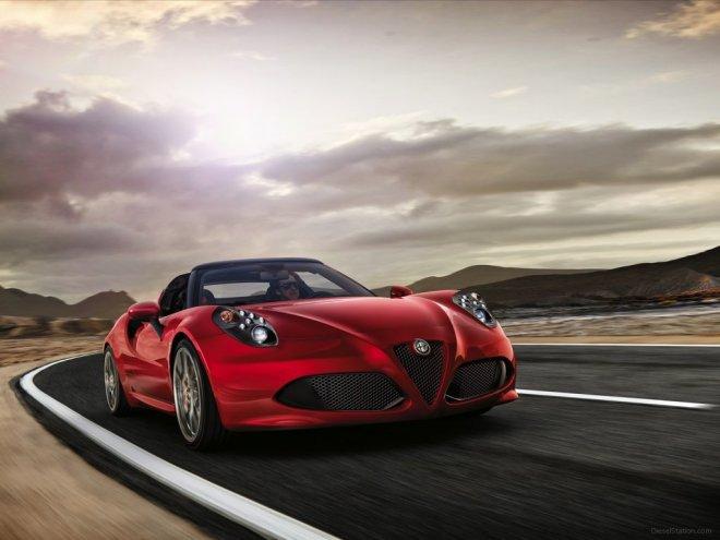 Fiat Chrysler Automobiles определилась с ценой на Alfa Romeo 4C Spider