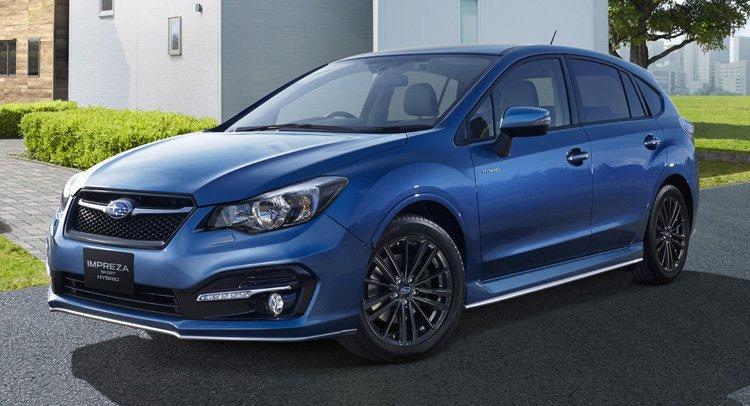 Subaru запускает гибридную Impreza Sport
