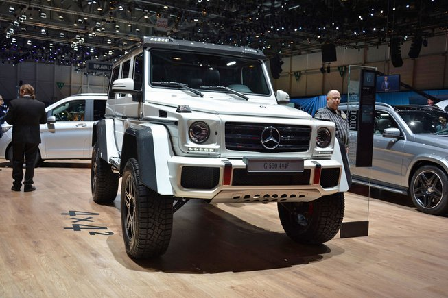 Mercedes-Benz установила цены G500 4×4² 2016 года