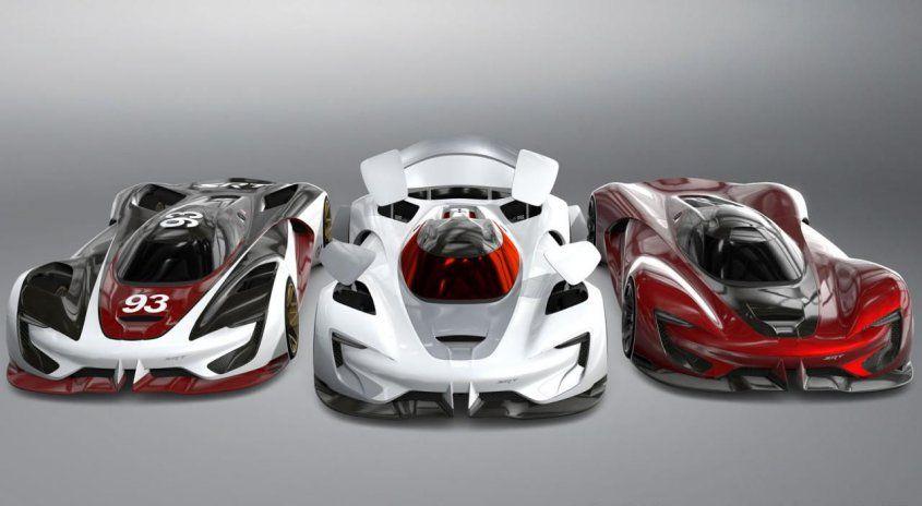 Виртуальный гиперкар SRT Tomahawk Vision Gran Turismo раздвигает границы реальности