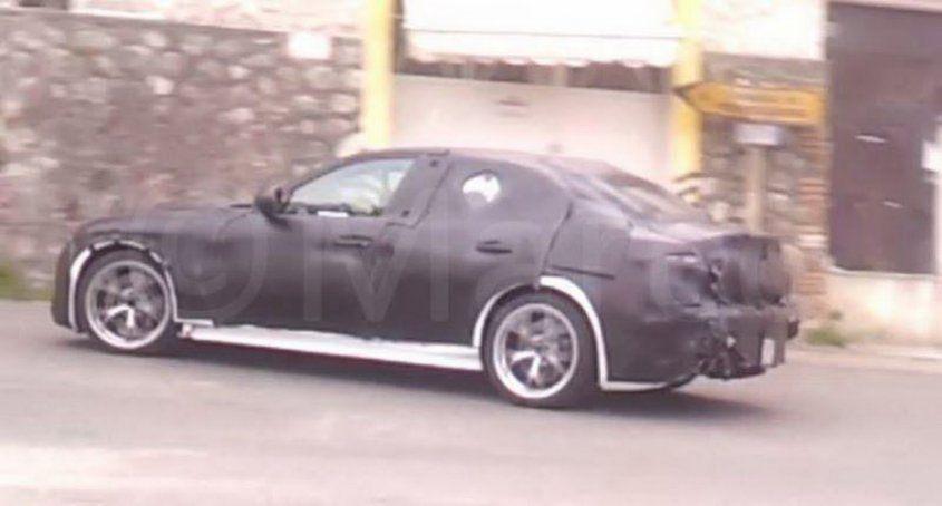 Шпионский снимок, как полагают, нового Alfa Giulia