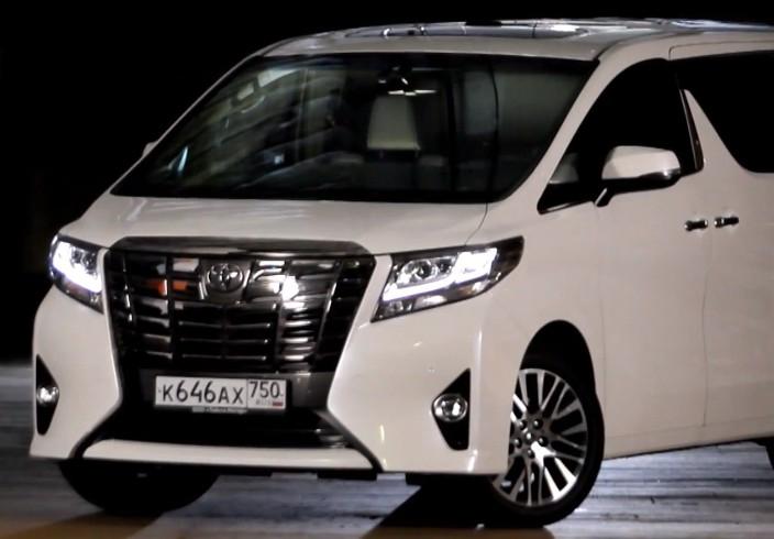 2015 Toyota Alphard 3.5I // Москва рулит