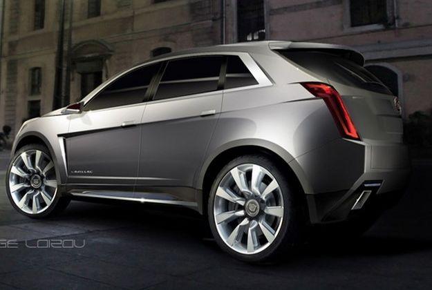 Новый Cadillac XT5 обнаружен полностью незамаскированным