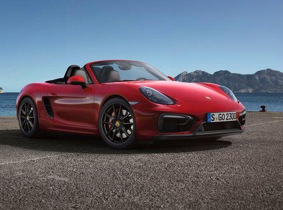 Новый Porsche Boxster — новые двигатели