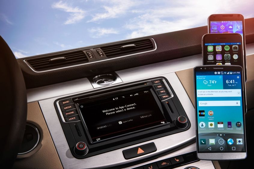 Volkswagen вводит новейшую информационно-развлекательную систему на 2016 модельный год