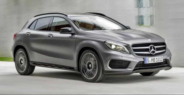 Mercedes-Benz GLA, CLA и B-Class получают обновления