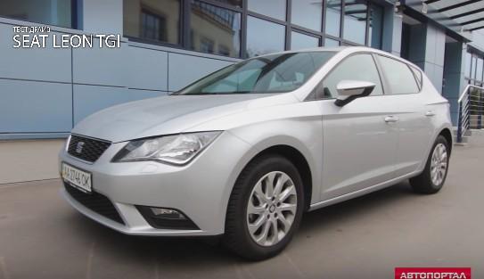 2015 Seat Leon 1.4 TGI (газ) // Автпортал