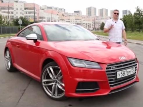 2015 Audi TTS 2.0i // Наши Tесты