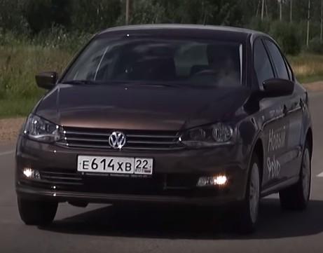 2015 Volkswagen Polo 1.6i // Александр Михельсон