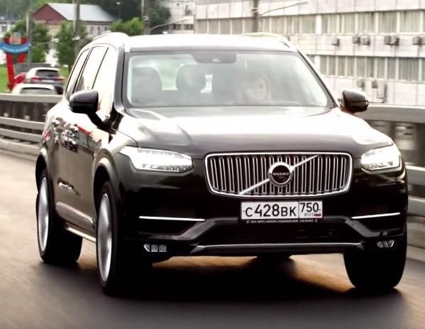 2015 Volvo XC90 2.0i // Москва рулит