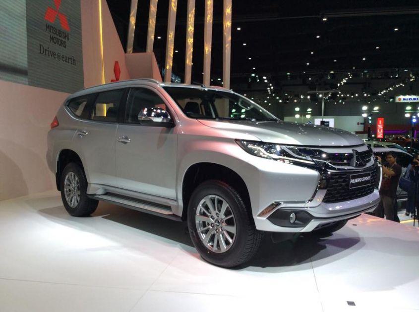 В Бангкоке состоялась мировая премьера Mitsubishi Montero Sport 2016