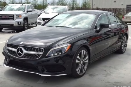 2015 Mercedes Benz CLS400 Coupe (en)
