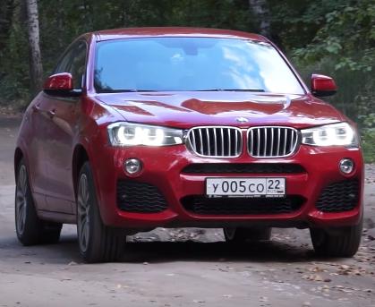 2015 BMW Х4 35i //Александр Михельсон