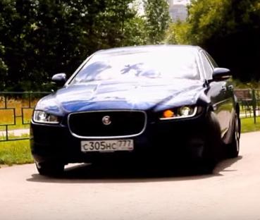 2015 Jaguar XE 2.0i // Москва рулит