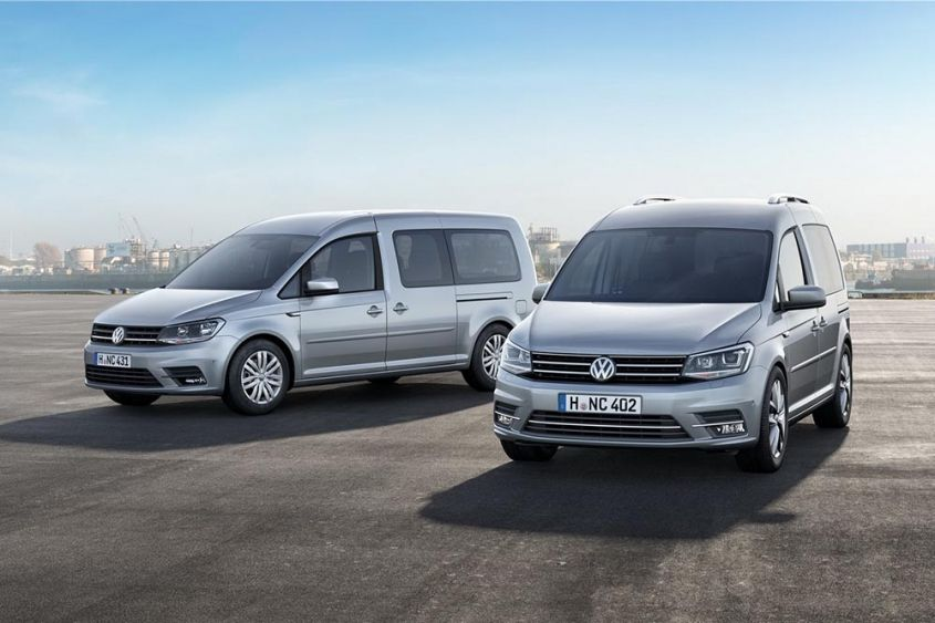 Volkswagen Caddy экстерьер